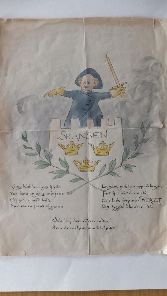 Ottilia Adelborg Adelborgsläktens gåva Barn Illustration Karl XII